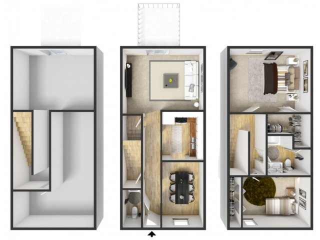 3 bed with basment