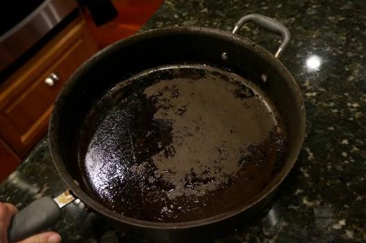 burned skillet
