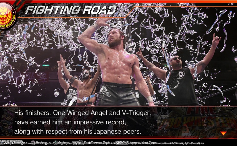 "Fire Pro Wrestling World ""Fighting Road"" Story Mode Screens & Pre-Order NJPW BonusAlmanac"