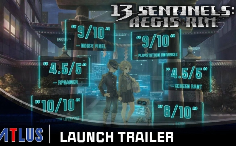 SEGA's 13 Sentinels: Aegis Of Rim LaunchTrailer