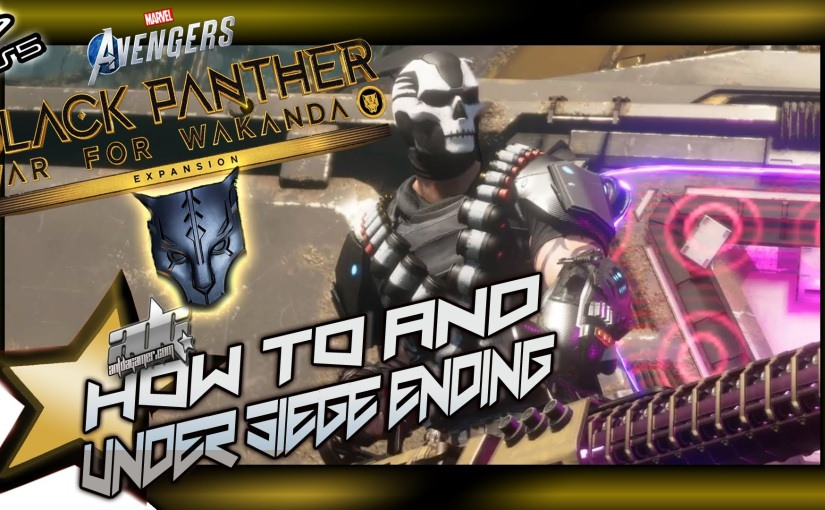 Marvel Avengers: War For Wakanda DLC How To Defeat Crossbones During Under Siege And EndingCinematics