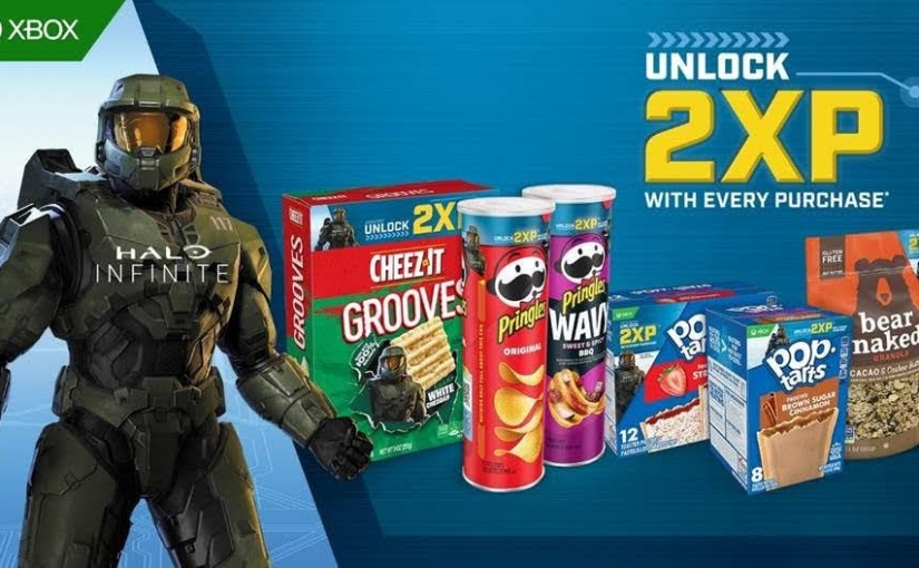 Get Double XP in Halo Infinite with Kellogg'sProducts